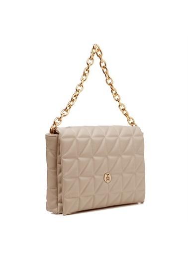 TH Bags   Kadın Çapraz Çanta Th069700  Vizon